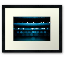 Watch as the light drips away... Framed Print