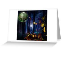 A LITTLE NIGHT MAGIC Greeting Card
