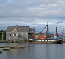 Pictou Harbour by Kathleen   Sartoris