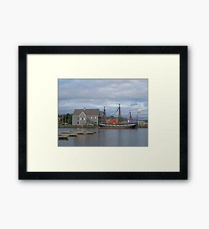 Pictou Harbour Framed Print