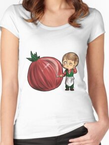Hannibal vegetables - Onion Women's Fitted Scoop T-Shirt