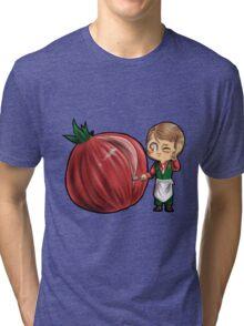 Hannibal vegetables - Onion Tri-blend T-Shirt