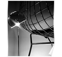 Chair and Lamp Poster