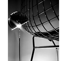 Chair and Lamp Photographic Print