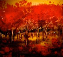 Trees..The Orchard by ©Janis Zroback