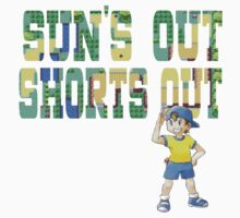 Pokemon - Sun's Out Shorts Out! Kids Clothes