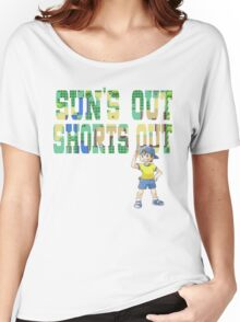 Pokemon - Sun's Out Shorts Out! Women's Relaxed Fit T-Shirt