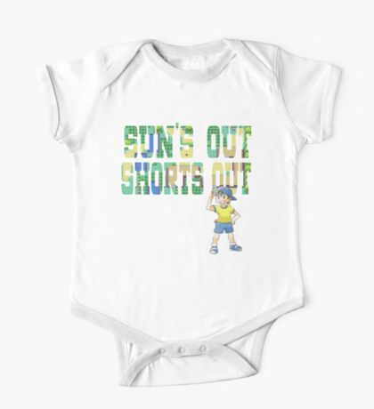 Pokemon - Sun's Out Shorts Out! One Piece - Short Sleeve