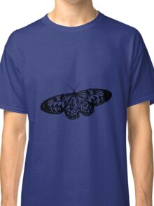 Black Butterfly Vector Art Classic T-Shirt