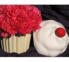 Birthday Cupcake Photographic Print