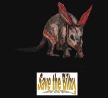 SAVE THE BILBY - DAVE EDWARDS - COLOURED PENCILS - 2010 T-Shirt