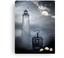 Left Behind ~ Freedom's Cost Canvas Print
