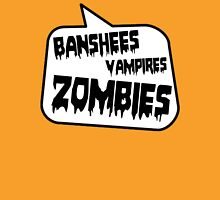 BANSHEES VAMPIRES ZOMBIES by Bubble-Tees.com T-Shirt