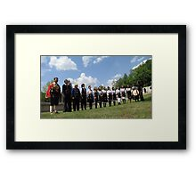 Folklore in line - two Framed Print