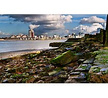 the barriers Photographic Print