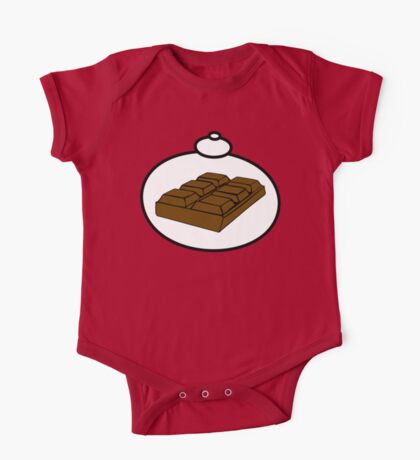 Chocolate by Bubble-Tees.com One Piece - Short Sleeve