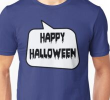 HAPPY HALLOWEEN by Bubble-Tees.com Unisex T-Shirt
