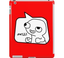 @#%&!! by Bubble-Tees.com iPad Case/Skin