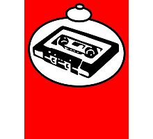 RETRO TAPE CASSETTE by Bubble-Tees.com Photographic Print