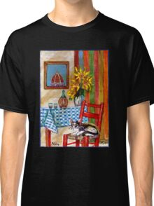 ITALIAN KITCHEN IN FLORENCE Classic T-Shirt