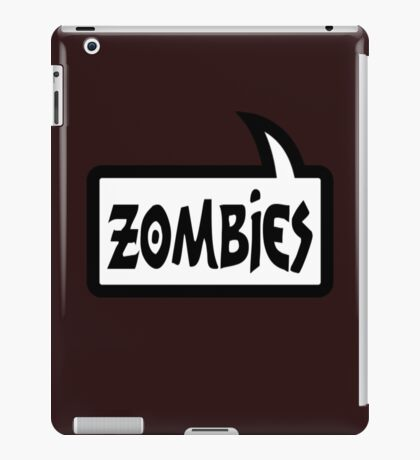 ZOMBIES by Bubble-Tees.com iPad Case/Skin