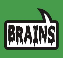 BRAINS by Bubble-Tees.com Kids Tee