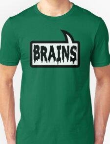 BRAINS by Bubble-Tees.com Unisex T-Shirt