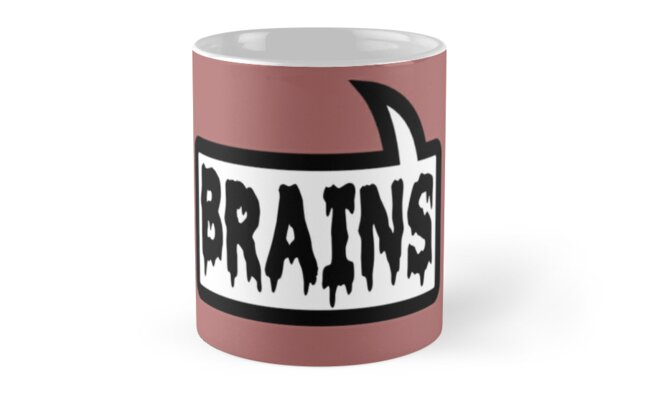 BRAINS by Bubble-Tees.com by Bubble-Tees