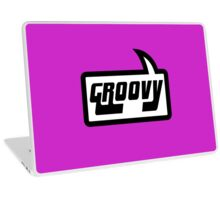 GROOVY by Bubble-Tees.com Laptop Skin