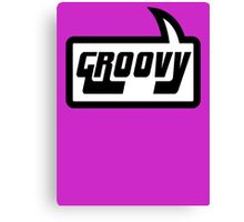 GROOVY by Bubble-Tees.com Canvas Print