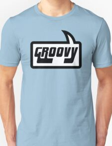GROOVY by Bubble-Tees.com Unisex T-Shirt