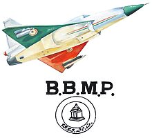 BBMP Tejas Take Off - Indian Jet Fighter by rooosterboy