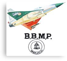 BBMP Tejas Take Off - Indian Jet Fighter Canvas Print