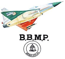 BBMP Tejas Take Off - Indian Jet Fighter Photographic Print