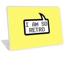 I AM SO RETRO by Bubble-Tees.com Laptop Skin
