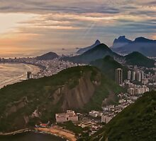 When the Sun Sets on Rio by Doug Keech