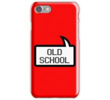 OLD SCHOOL by Bubble-Tees.com iPhone Case/Skin