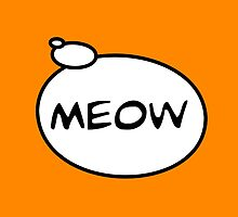 MEOW by Bubble-Tees.com by Bubble-Tees