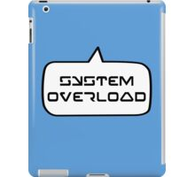 SYSTEM OVERLOAD by Bubble-Tees.com iPad Case/Skin