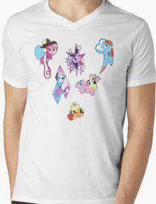 <3 Mane6 Mens V-Neck T-Shirt