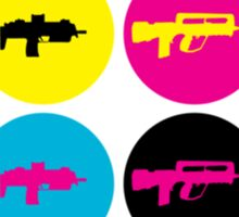 GUN COLOR DOTS Sticker