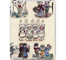 The Little Folks Painting book by George Weatherly and Kate Greenaway 0151 iPad Case/Skin