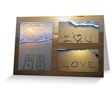 Love Trio Greeting Card
