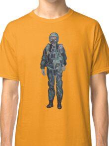 Indian Air Force Pilot Mural Classic T-Shirt