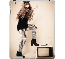 Vintage TV iPad Case/Skin
