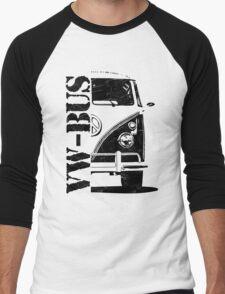 vw bus Men's Baseball ¾ T-Shirt