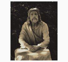 Jesus Praying In The Garden Kids Tee