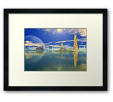 Coral Sea Framed Print