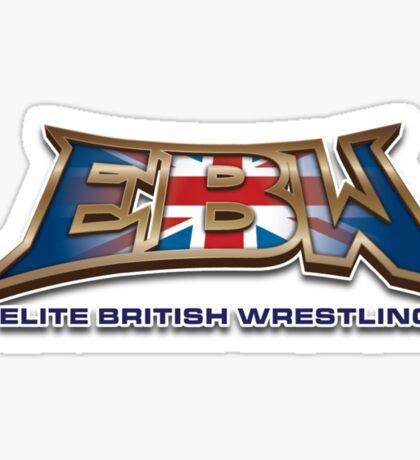 EBW - Elite British Wrestling Official T-Shirt Sticker