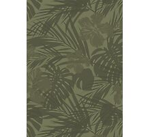 Tropical camo Photographic Print